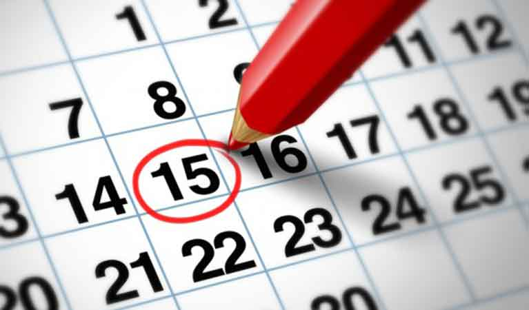 Calendar-15th