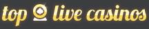 top live casinos logo